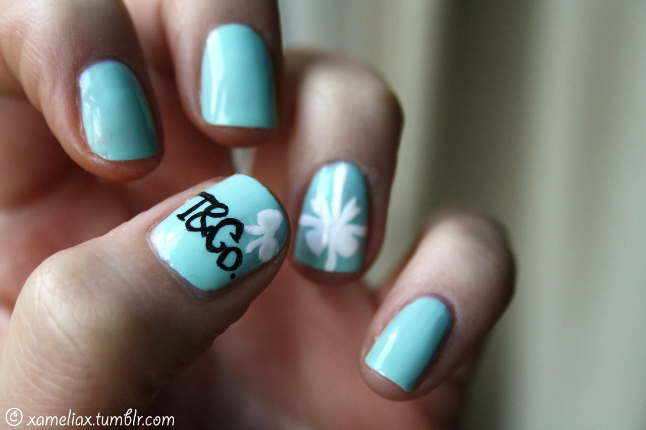 Tiffany Box Manicure