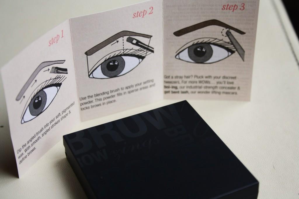 Benefit Browzings Kit Review