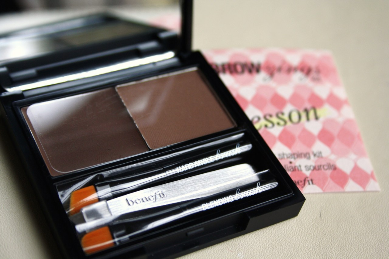 Benefit Browzings Kit Review