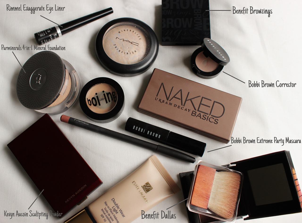 My Everyday Makeup Products xameliax, everyday makeup xameliax