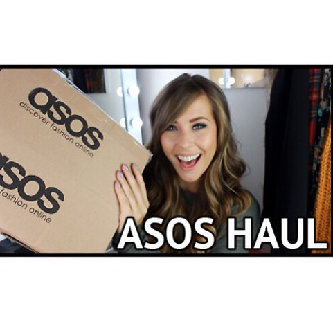 Look what I just uploaded!!! An asos haul video fromhellip