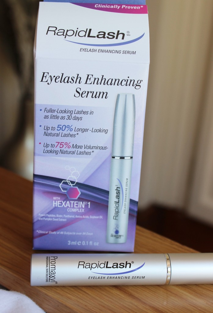 RapidLash Lash Growth Serum Review Before and After