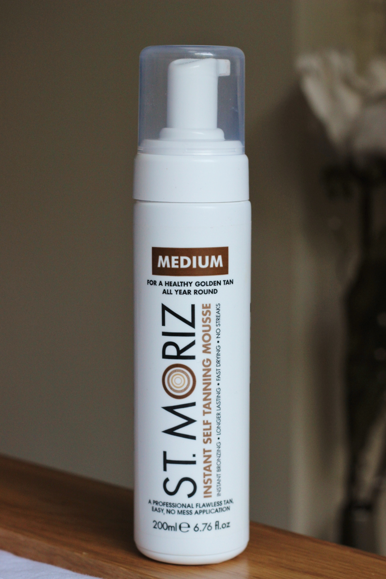 St Moriz Instant Self Tanning Mousse Medium Review