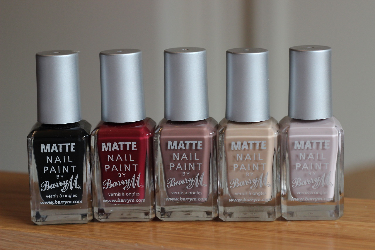Barry M Autumn Winter Polishes and Palettes 2013