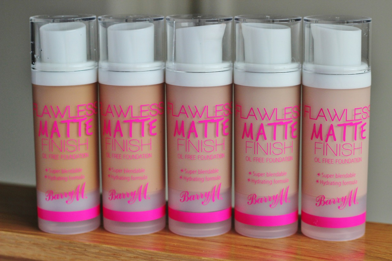 Barry M Flawless Matte Finish Foundation review