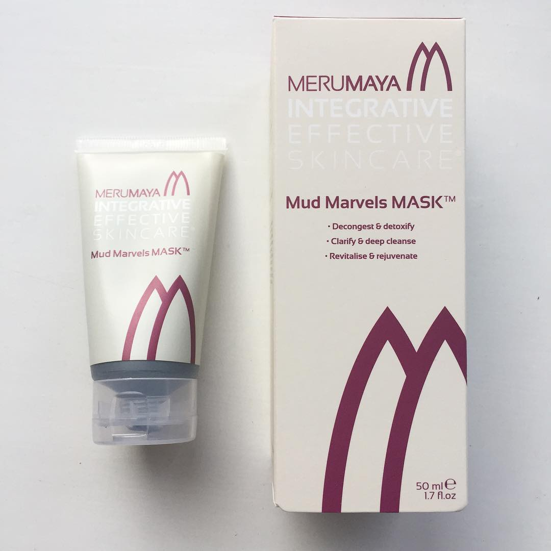 Giving the new merumaya Mud Marvels Mask a go tonighthellip