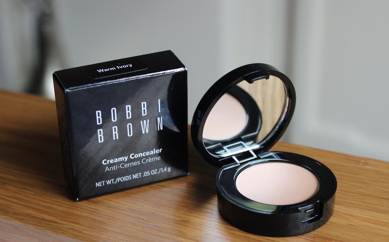bobbi brown creamy concealer, bobbi brown vs benefit boing
