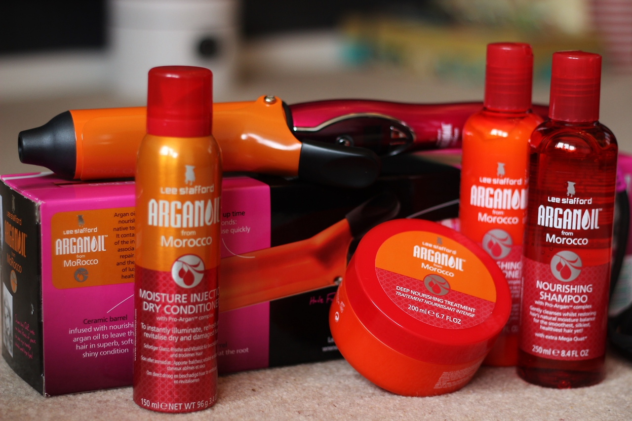 Lee Stafford Arganoil Haircare Range