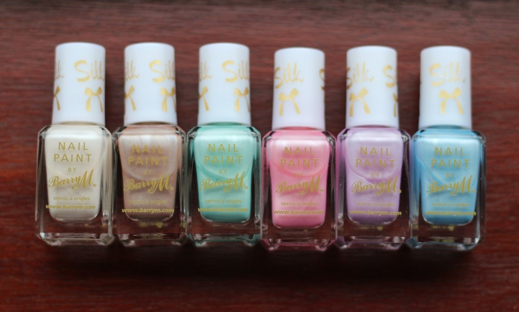 Barry M Spring Silk Collection