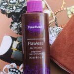Fake Bake Flawless Tan Review, Pale Skin