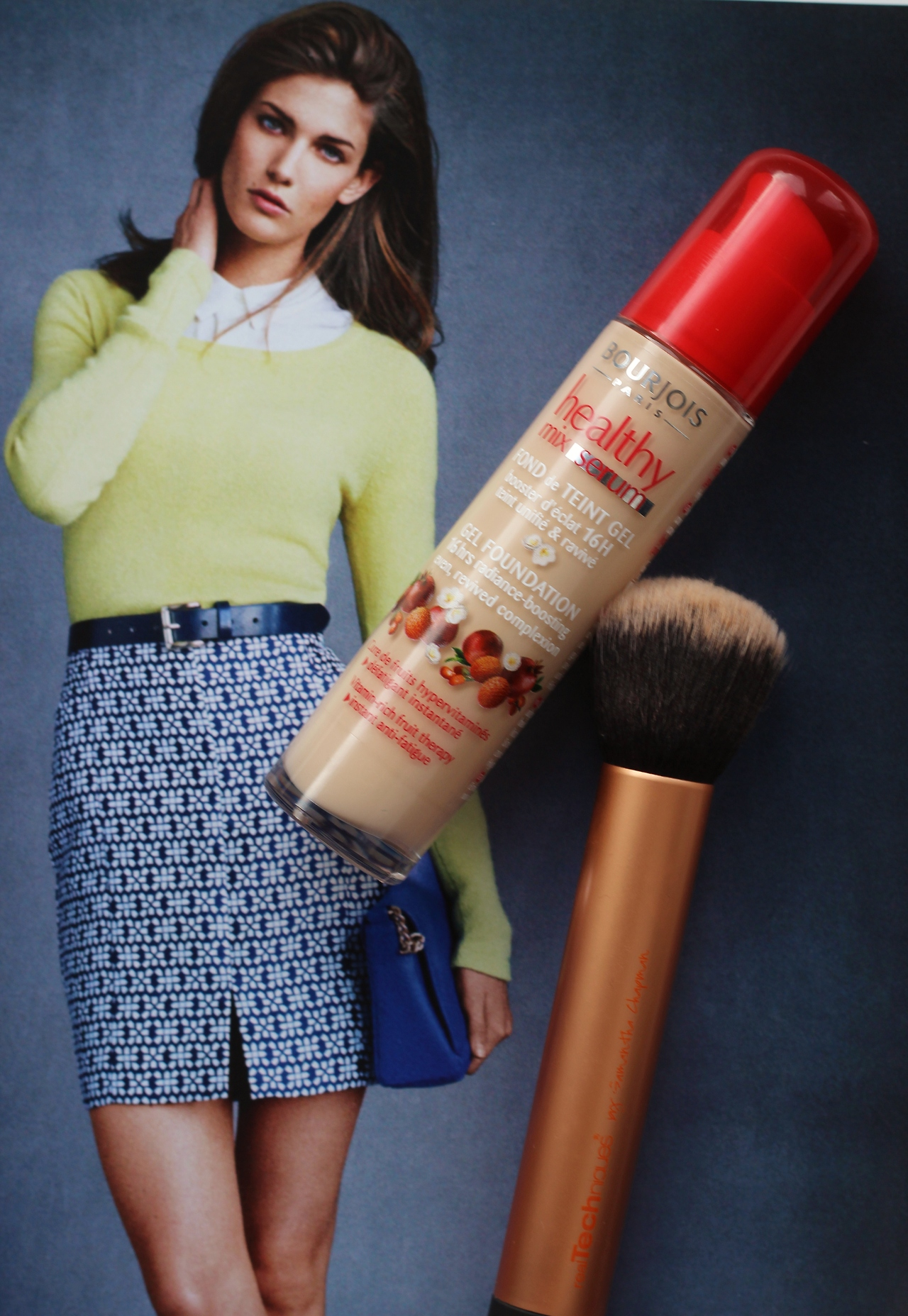 Bobbi Brown Long Wear Dupe, Bourjois Healthy Mix Serum