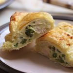 chicken and asparagus pasties, uk food blog, recipe, how to, chicken and asparagus pastry