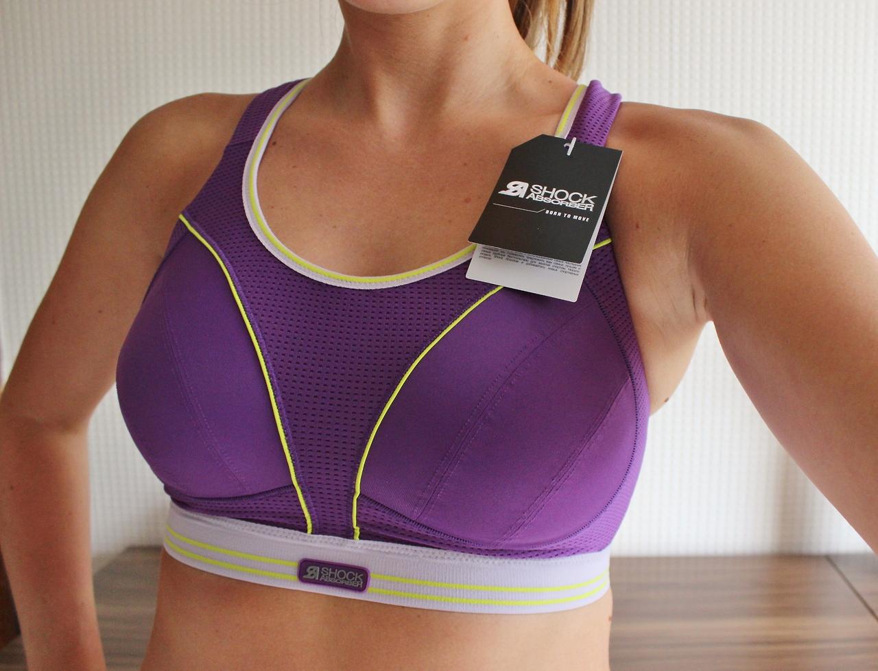 Ultimate run bra, shock absorber