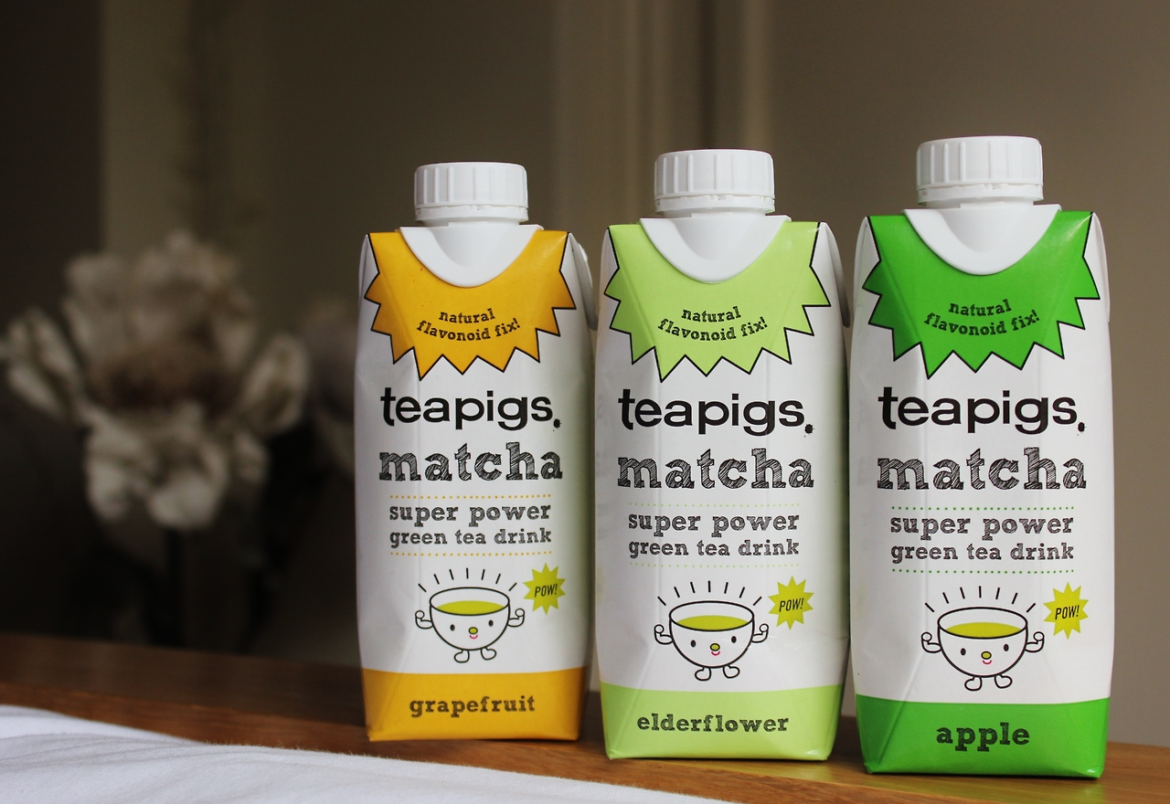 teapigs matcha drinks