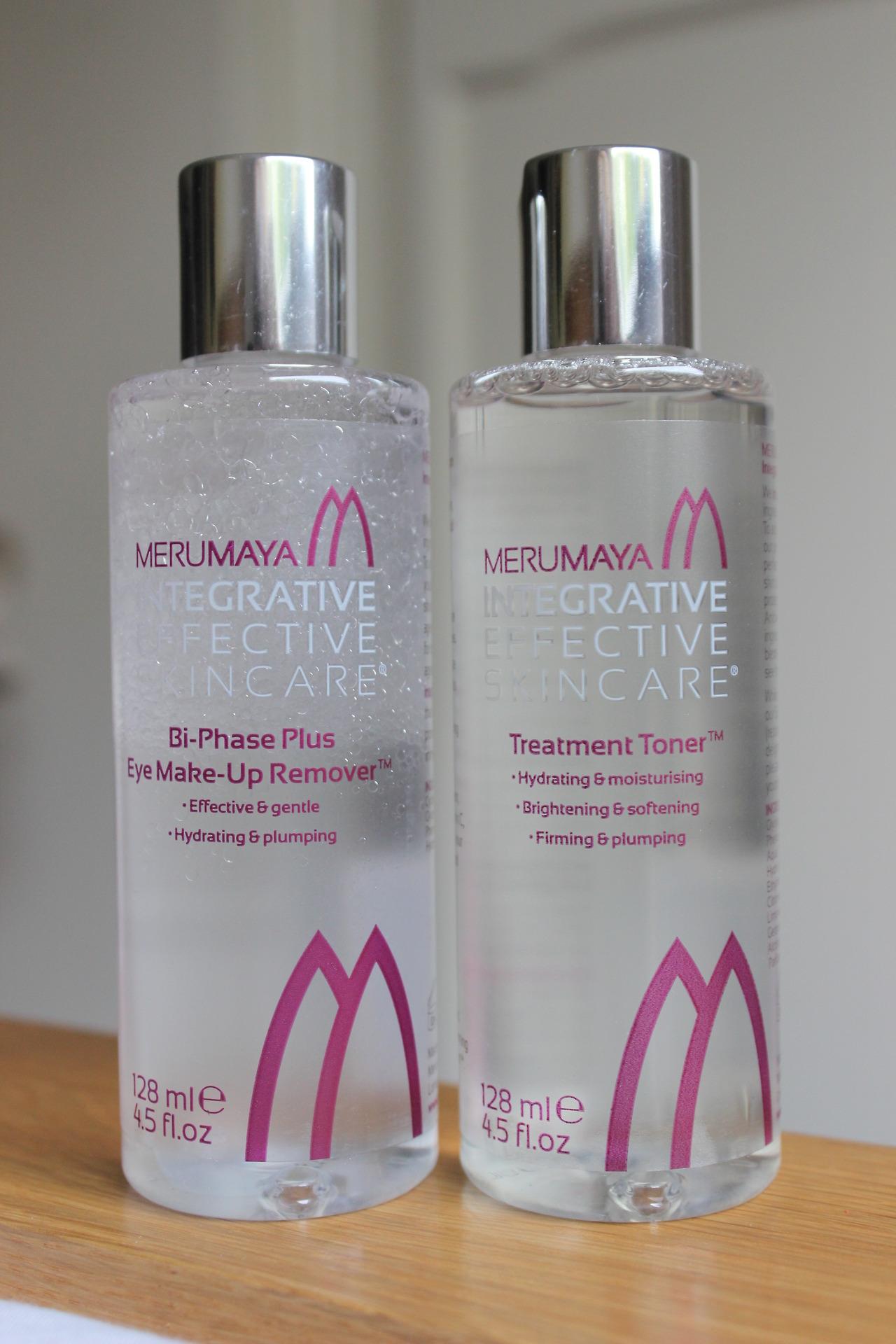 merumaya Bi-Phase Eye Makeup Remover & Treatment Toner