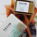 Neom Wild Mint & Mandarin body scrub, uk, review