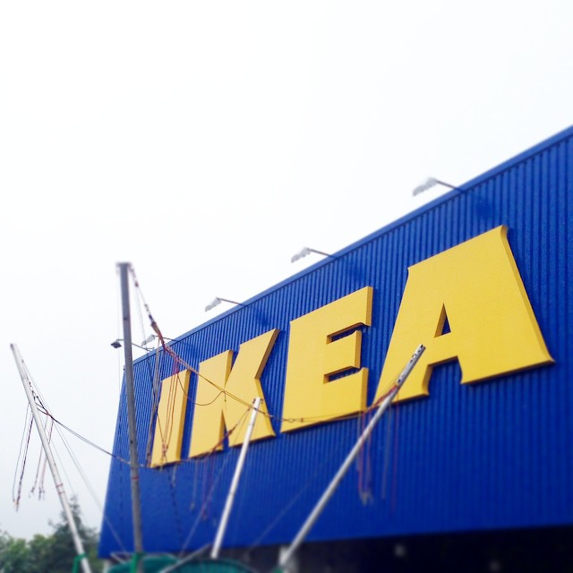 Here's to the first of many trips ???? #lbloggers #ikea #movingin #DIY #couple