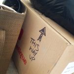 moving box, this way up
