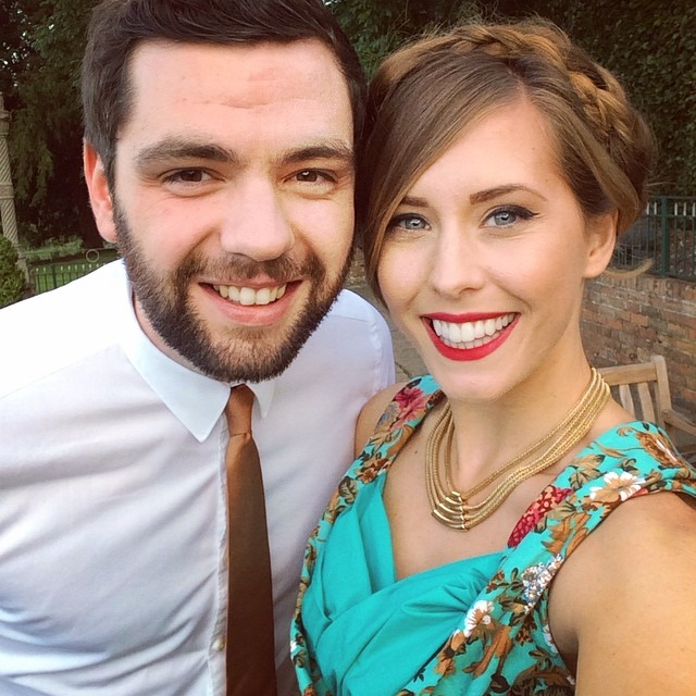 Wedding celebrations with this incredibly handsome man! ????? #lbloggers #couple #wedding #reception #gpoy