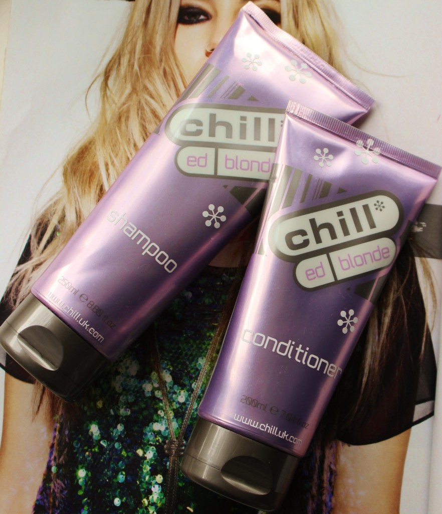 chill*ed blonde purple shampoo