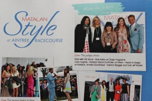 Matalan Style Awards Guest Judge