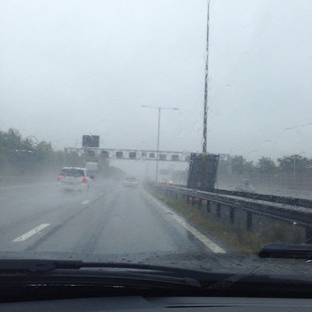 The wonderful British summer...bring on holiday time ☀️???? #lbloggers #rainraingoaway #twoweekstogo #holiday