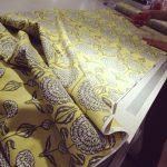 john lewis fabric, flower pattern