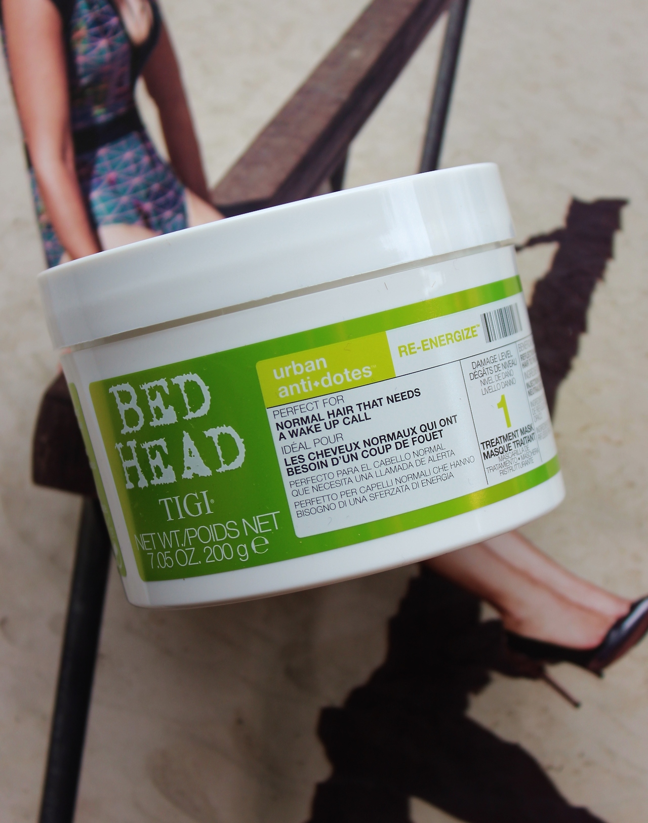 bedhead re-energize, hair mask,