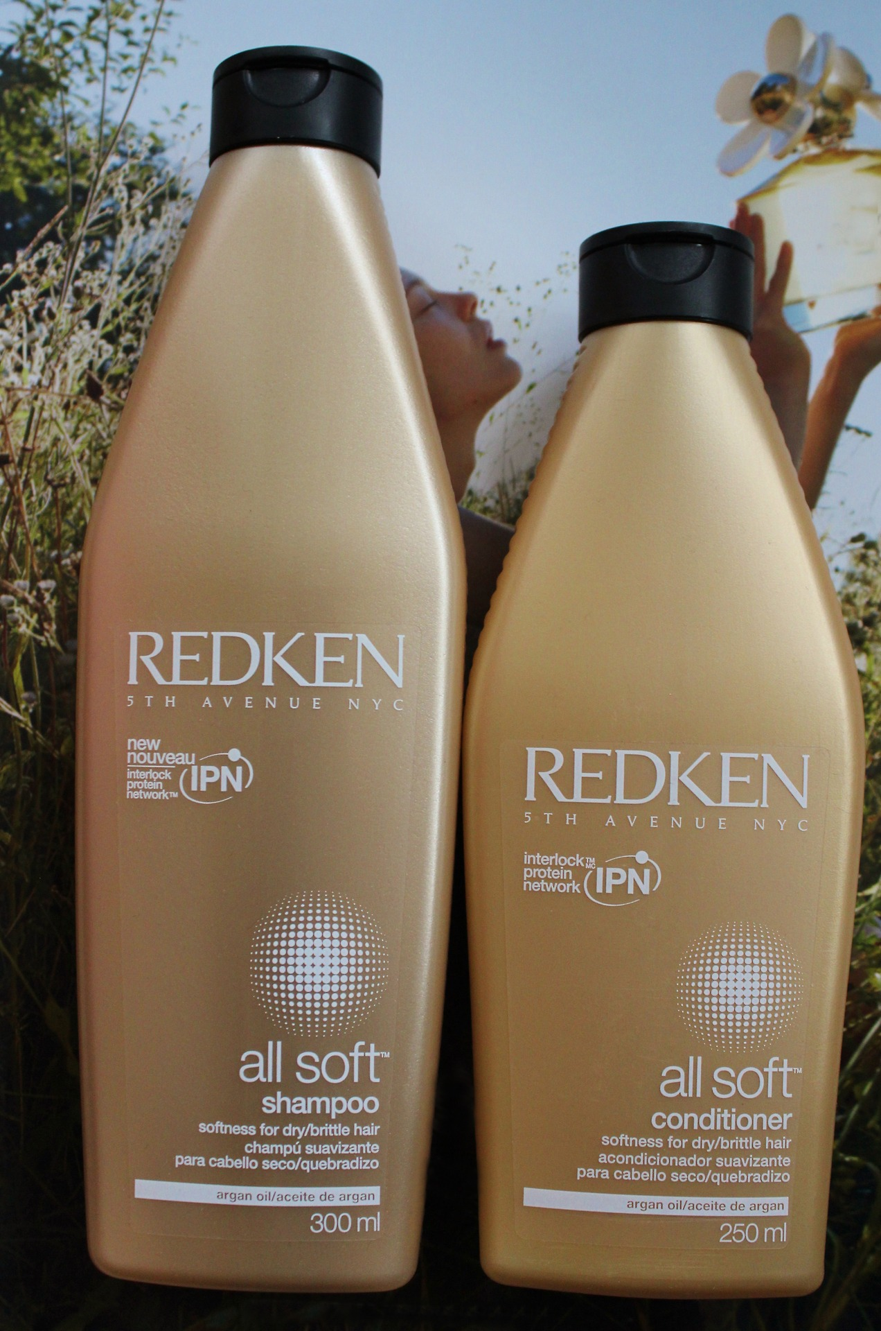 Redken all soft shampoo and conditioner, redken all soft. review