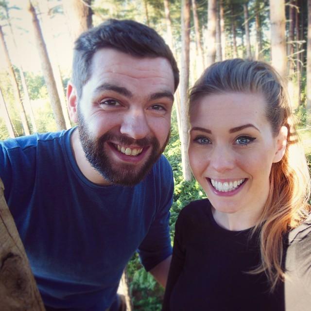 Treetop selfie...hold on tight!!! ???☀️ #lbloggers #goape #littlemonkeys #gpoy