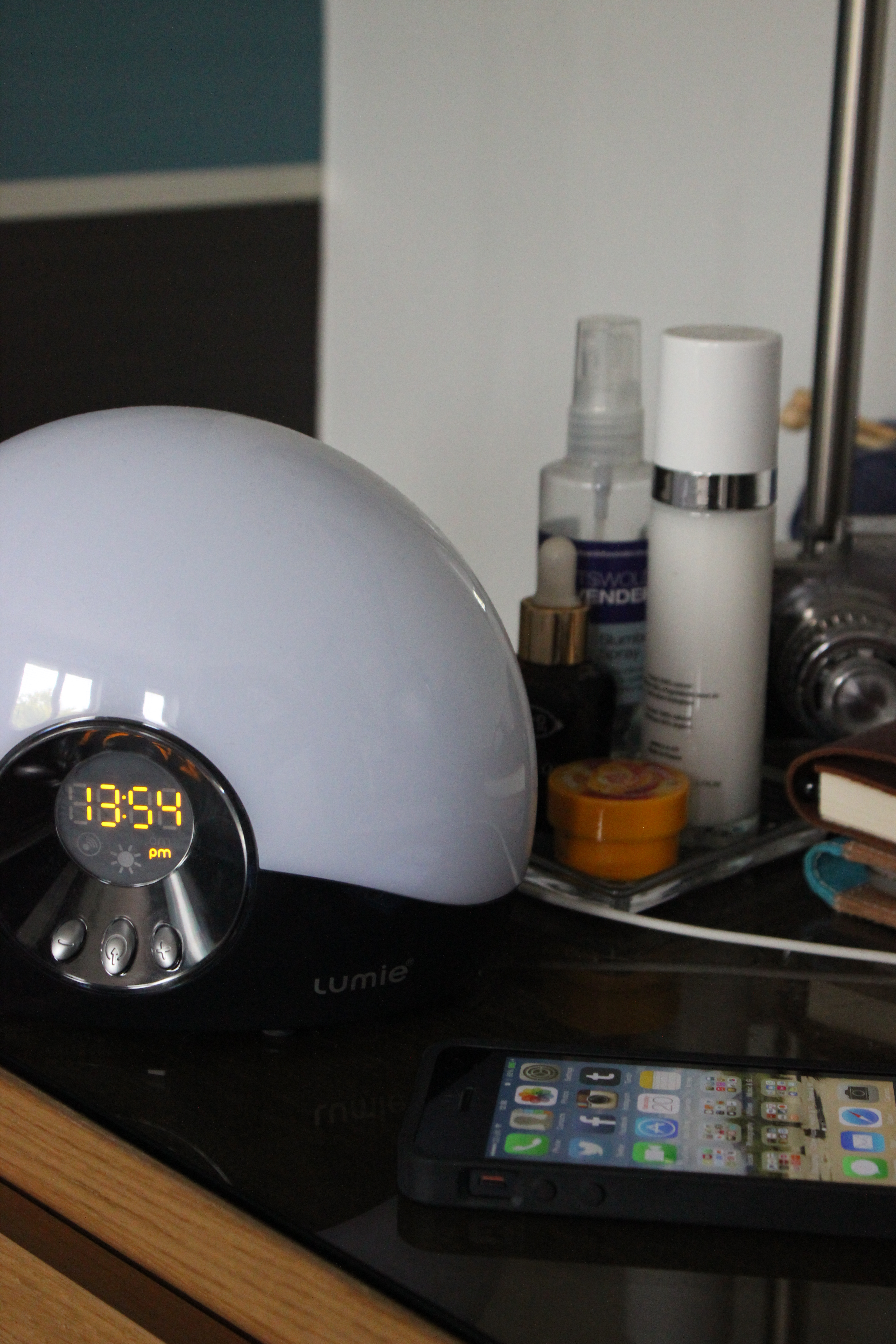 Lumie bodyclock go SAD lamp review | xameliax