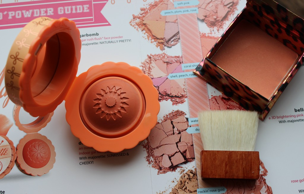 benefit majorette blush review