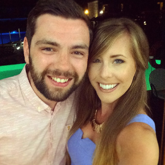 Last night love with this (tanned)bearded boy☀️??? #lbloggers #travelbloggers #holiday #couple #love