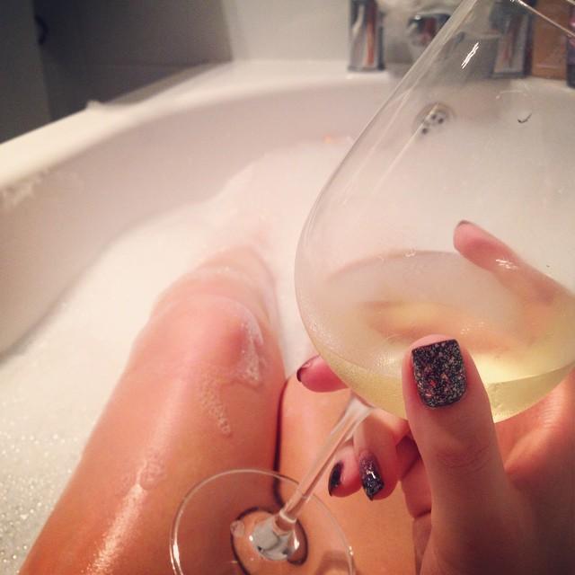 Unwinding...? #lbloggers #bbloggers #bathtime #relax #nightoff #destress
