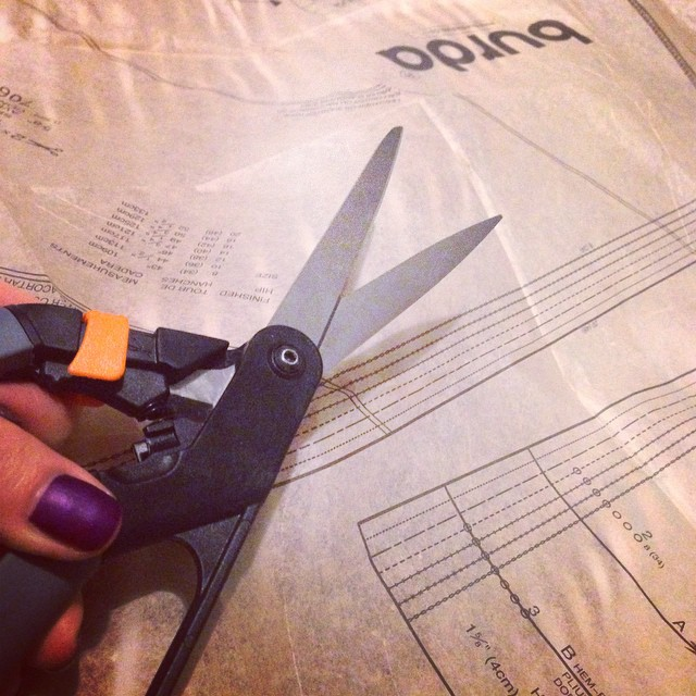 Time to start my next sewing project! ✂️? #lbloggers #sewing #dressmaking #DIY #pencilskirt #projectnumbertwo #mummydaughtertime