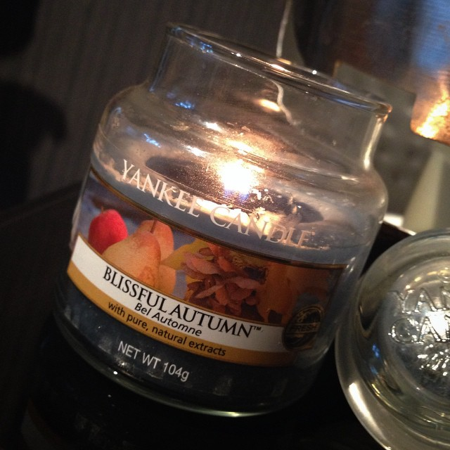 My all time favourite Autumn candle ???? @YankeeCandleEu #lbloggers #yankeecandle #autumnbliss #candle #homeware