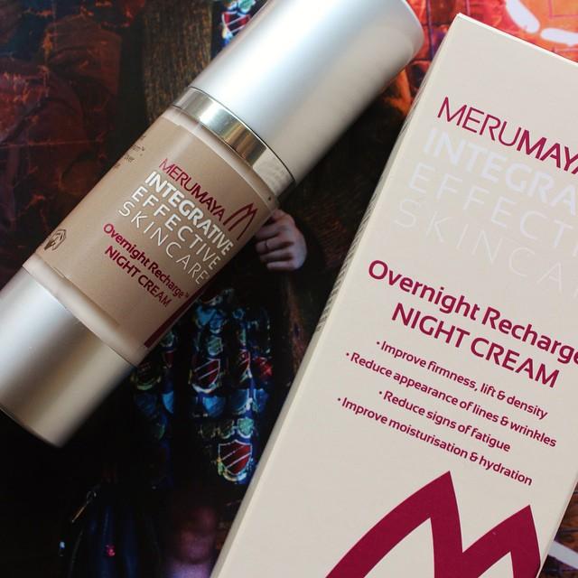 On The Blog Today | xameliax.com | A Nightime skin saviour from @Merumaya ❤️ #lbloggers #bbloggers #skincare #rechargecream