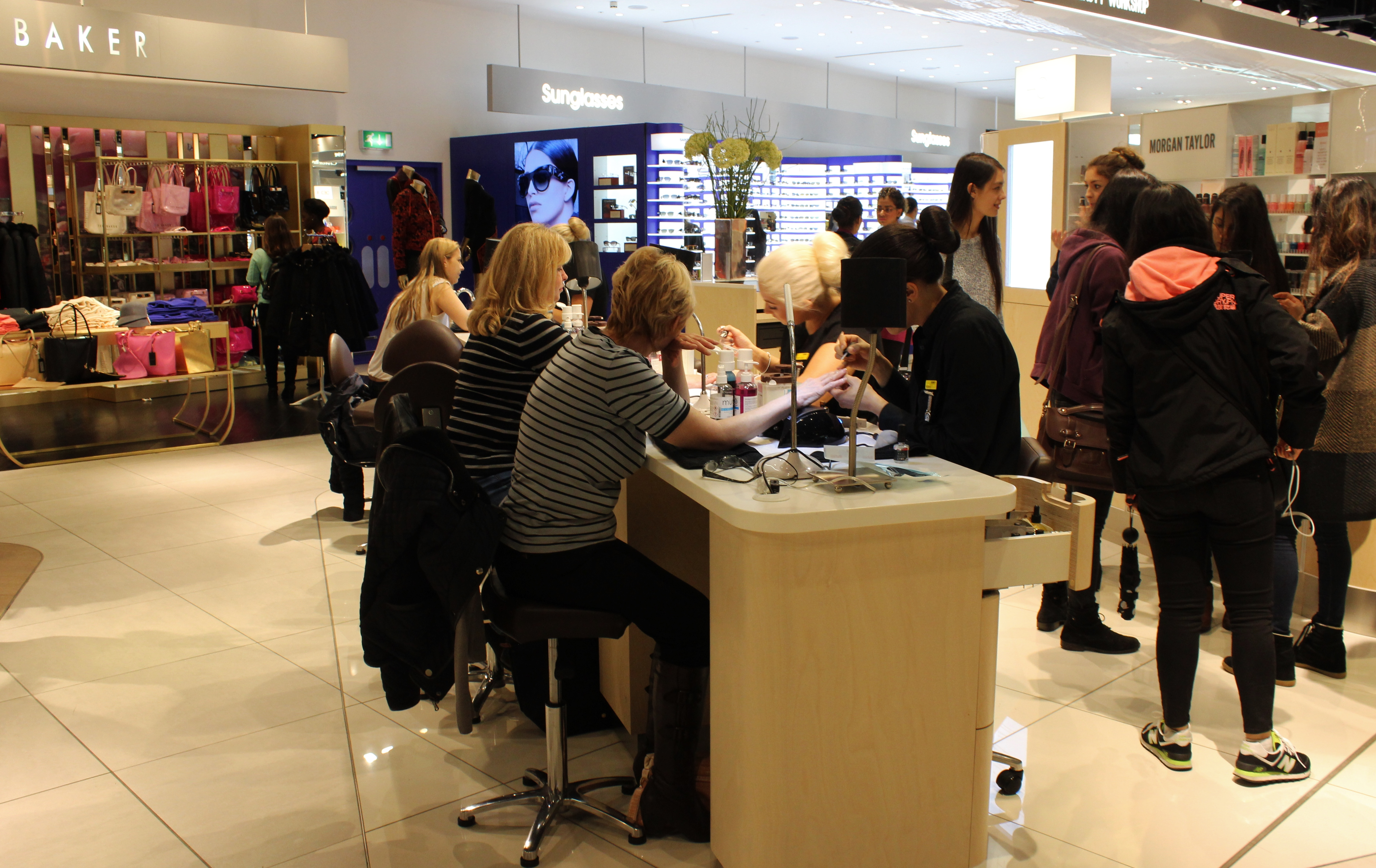 Hc lux spa selfridges birmingham review xameliax for Lux salon and spa