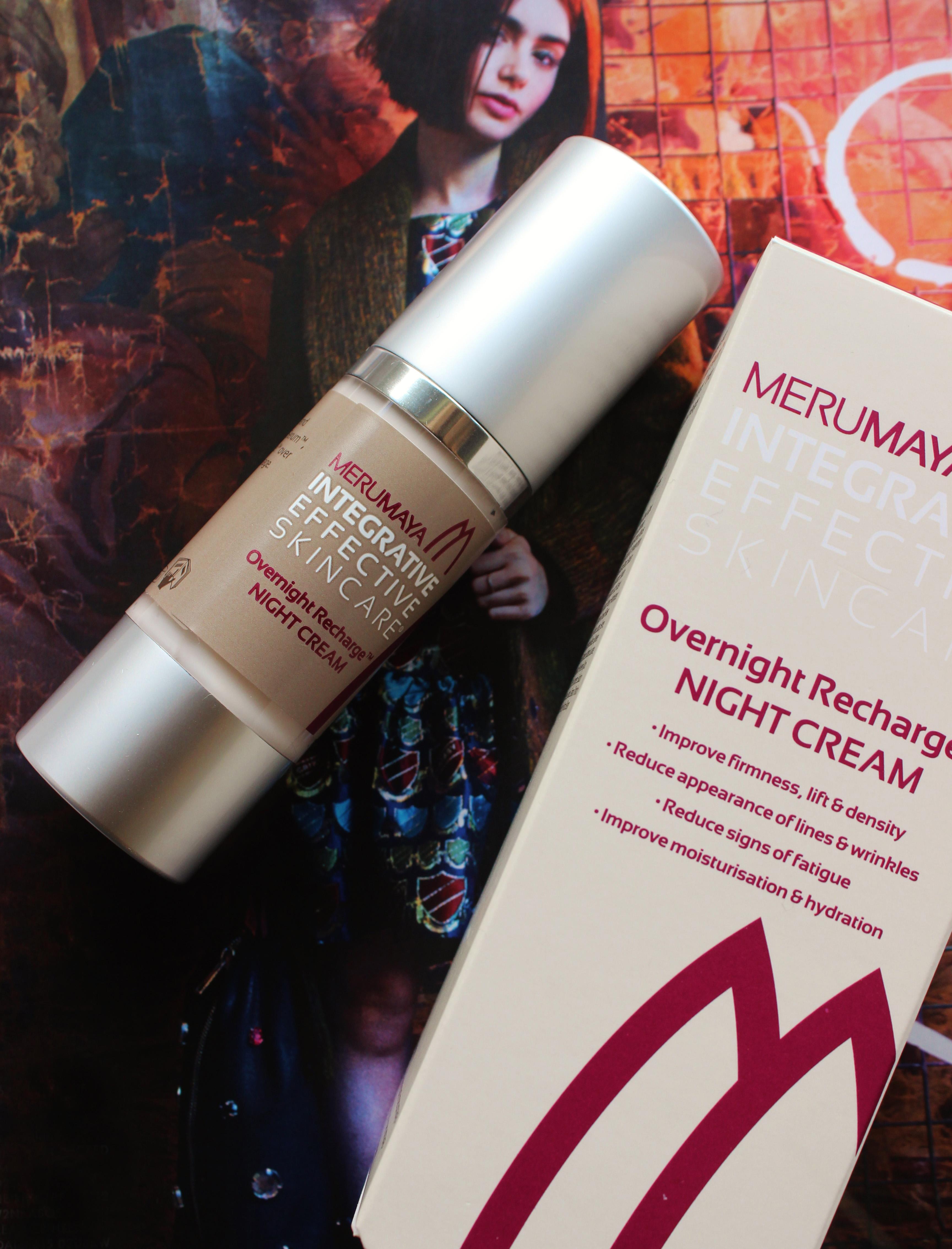 Merumaya Overnight Re-charge cream