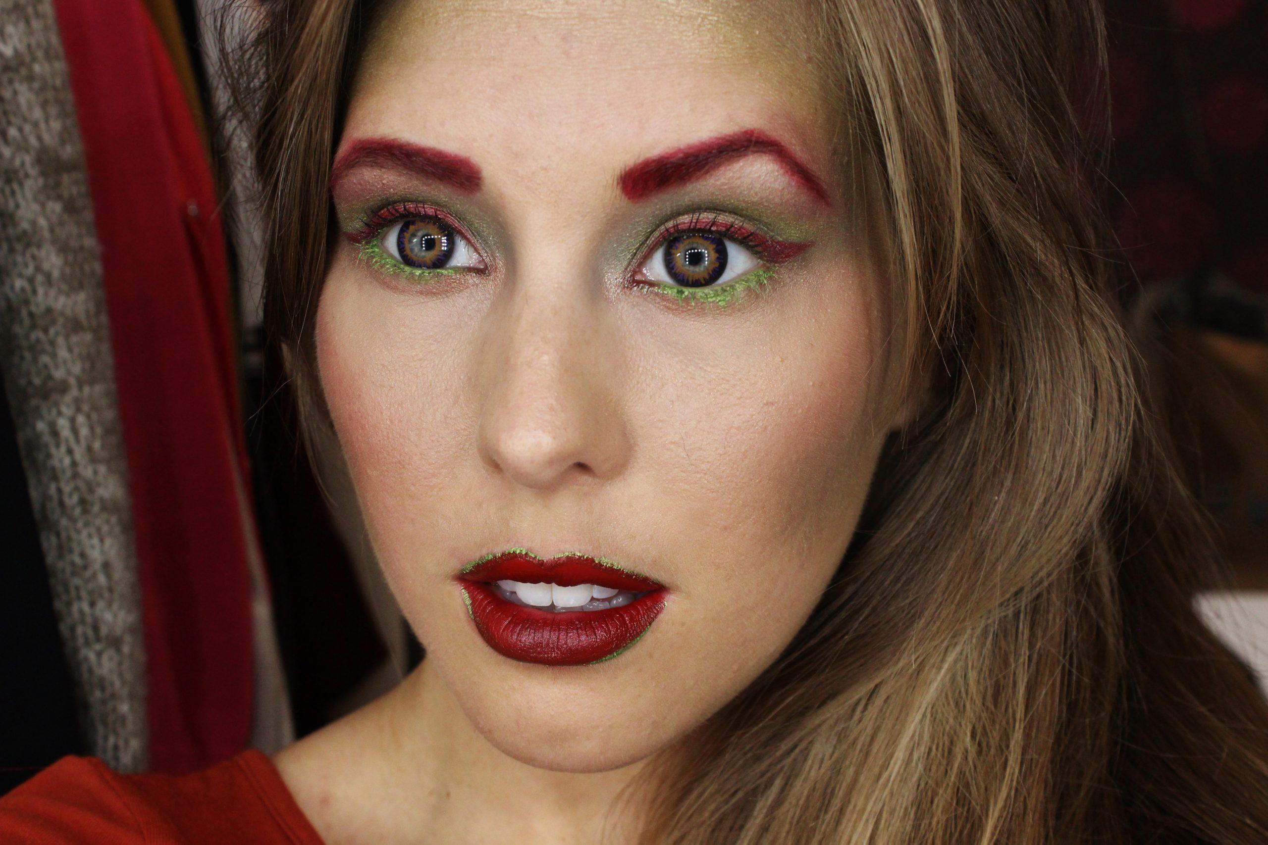 Poison ivy makeup, poison ivy makeup tutorial