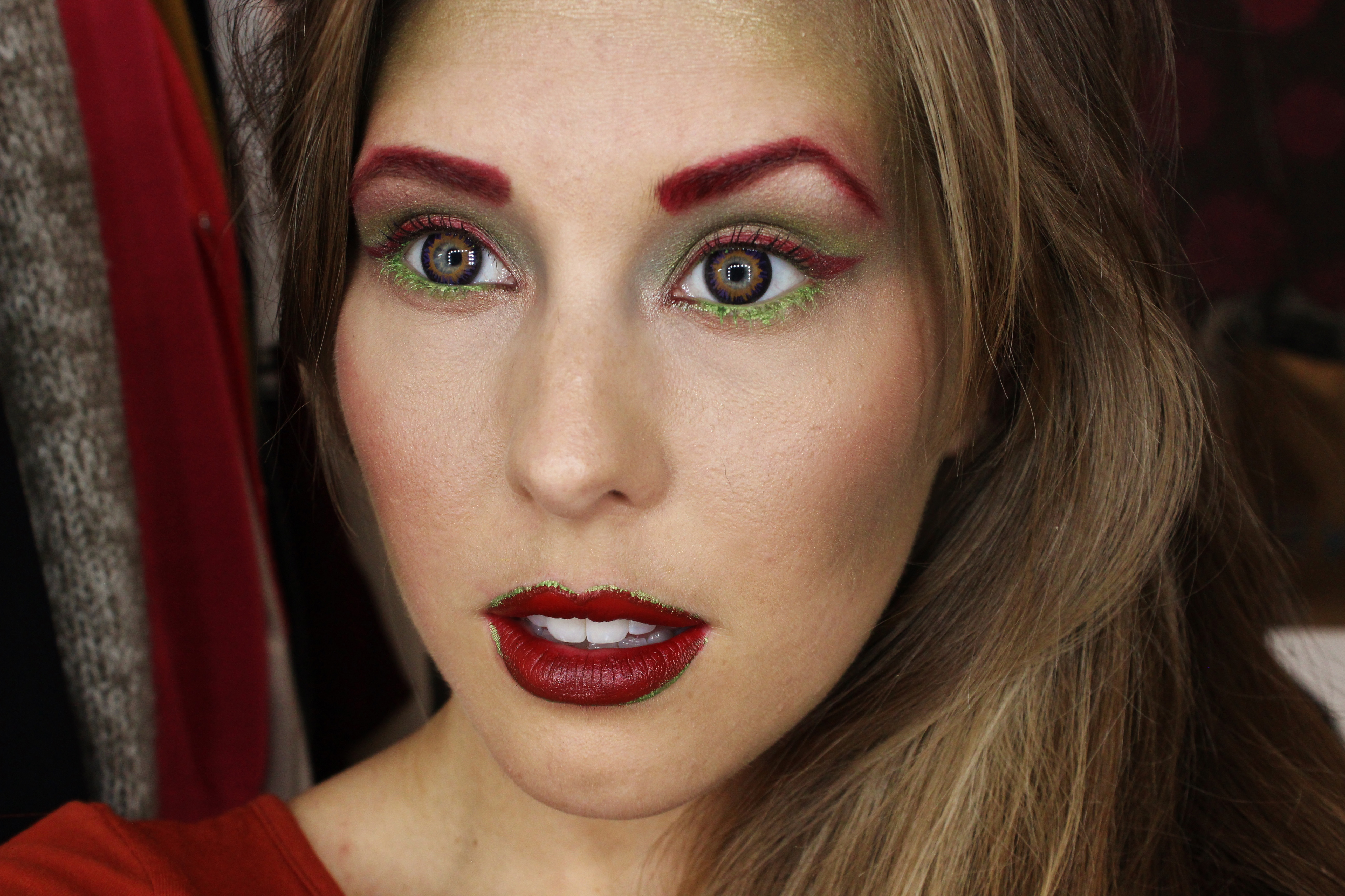 Poison ivy makeup, poison ivy makeup tutorial