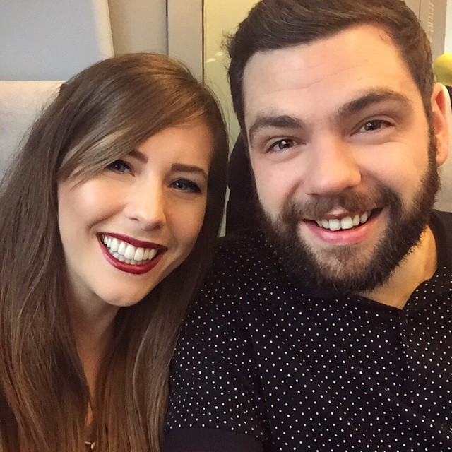 Off to London for the weekend with geekatron - very excited indeed! ??????????? #lbloggers #london #weekendaway #meandhim