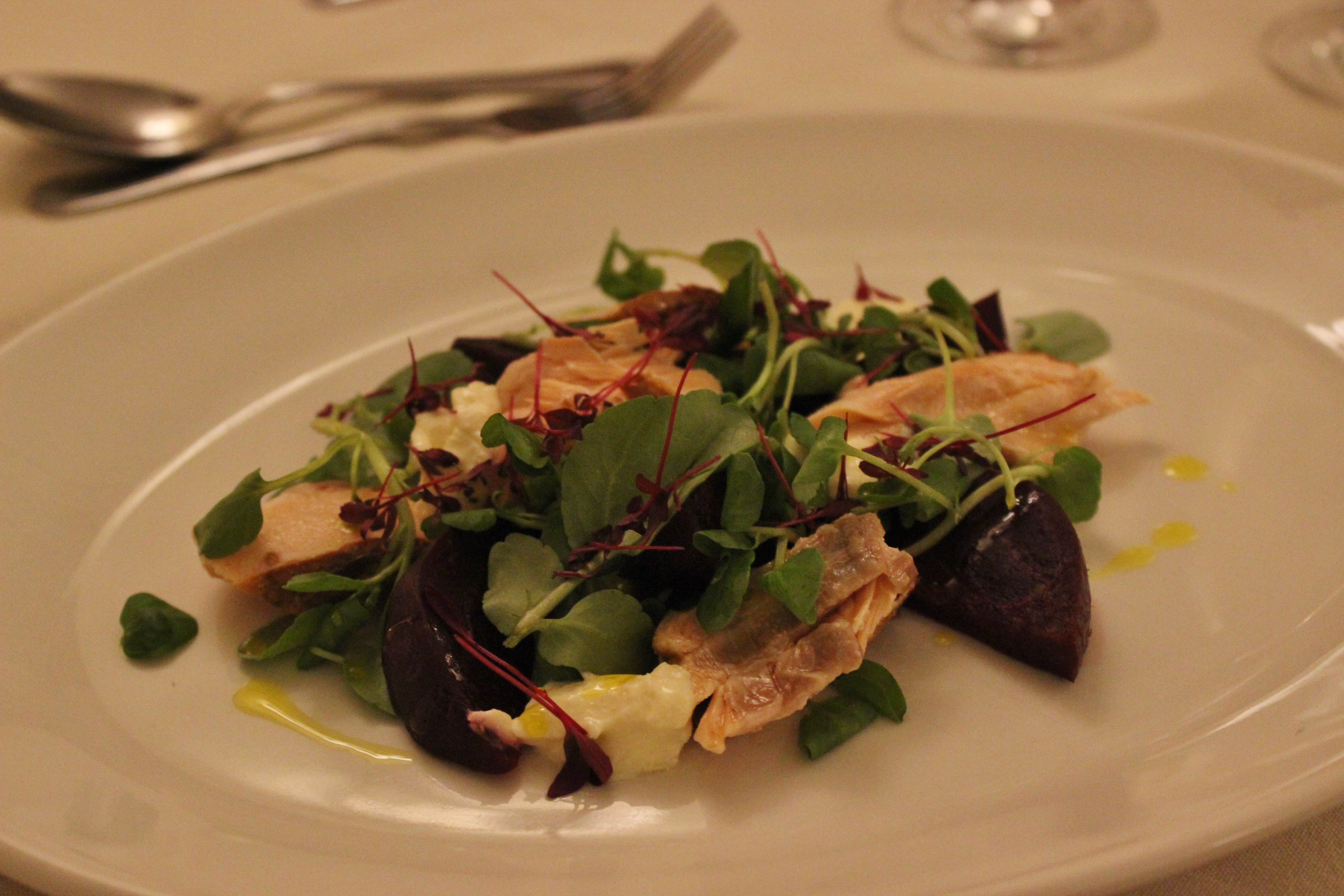 Pascal's at the Old Vicarage Burton Review