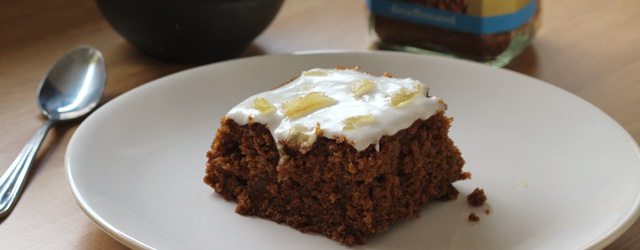 Treacle and Ginger Cake Recipe Feature