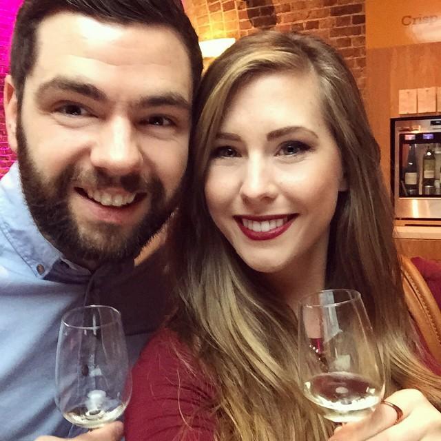 A very happy Sunday ❤️ #lbloggers #weekendaway #vinopolis #london #winetasting #meandhim