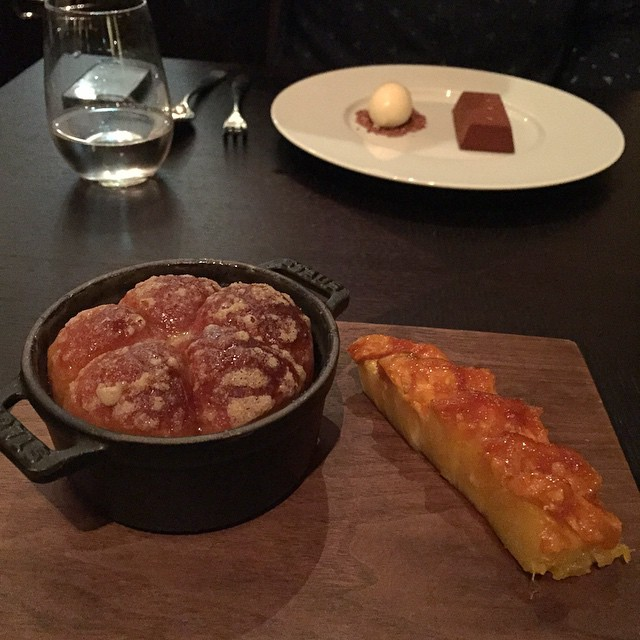 Tipsy Cake - I couldn't not!!! ???? #lbloggers #fdbloggers #mandarinoriental #dinnerbyheston #weekendaway #london #meandhim