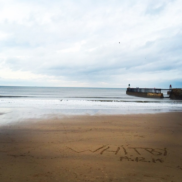 What a perfect weekend ❤️⚓️? #lbloggers #seaside #whitby #beach #england