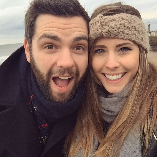 It's impossible not to be happy when this boy is around - he doesn't half make me happy ❤️ #lbloggers #weekendaway #seaside #whitby #meandhim