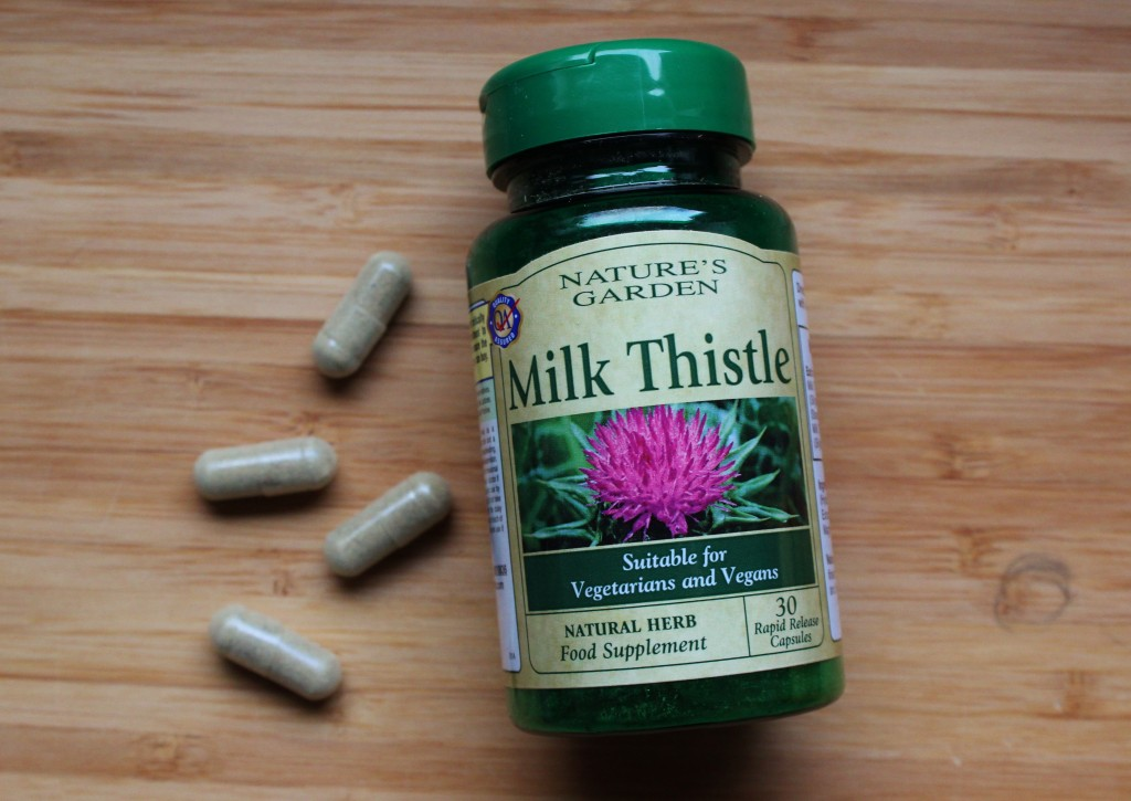 Milk Thistle Hangover Cure