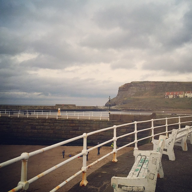 We're at the seaside! ?⚓️?? #lbloggers #whitby #weekendaway #seaside